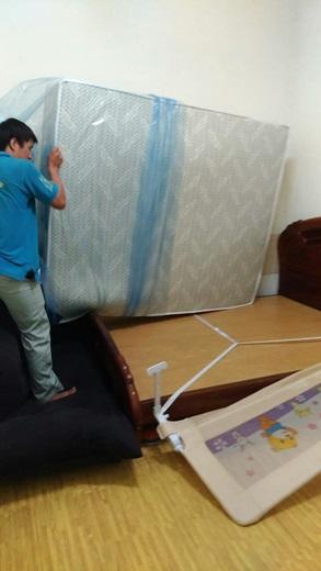 工廠直營台灣製造在地的超優質【台北床墊工廠】讓我們全家都一覺好眠~~~想買乳膠床墊的人也非常推薦呦!